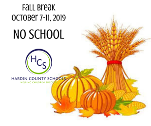 NO SCHOOL - FALL BREAK OCTOBER 7 - 11 linked image