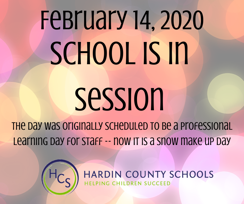 school is in session feb 14 2020