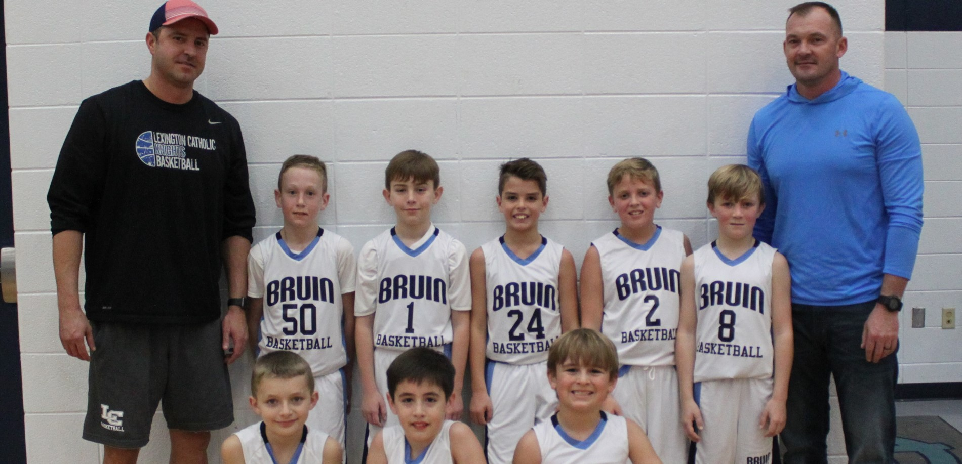 LTES 4th Grade Basketball Team