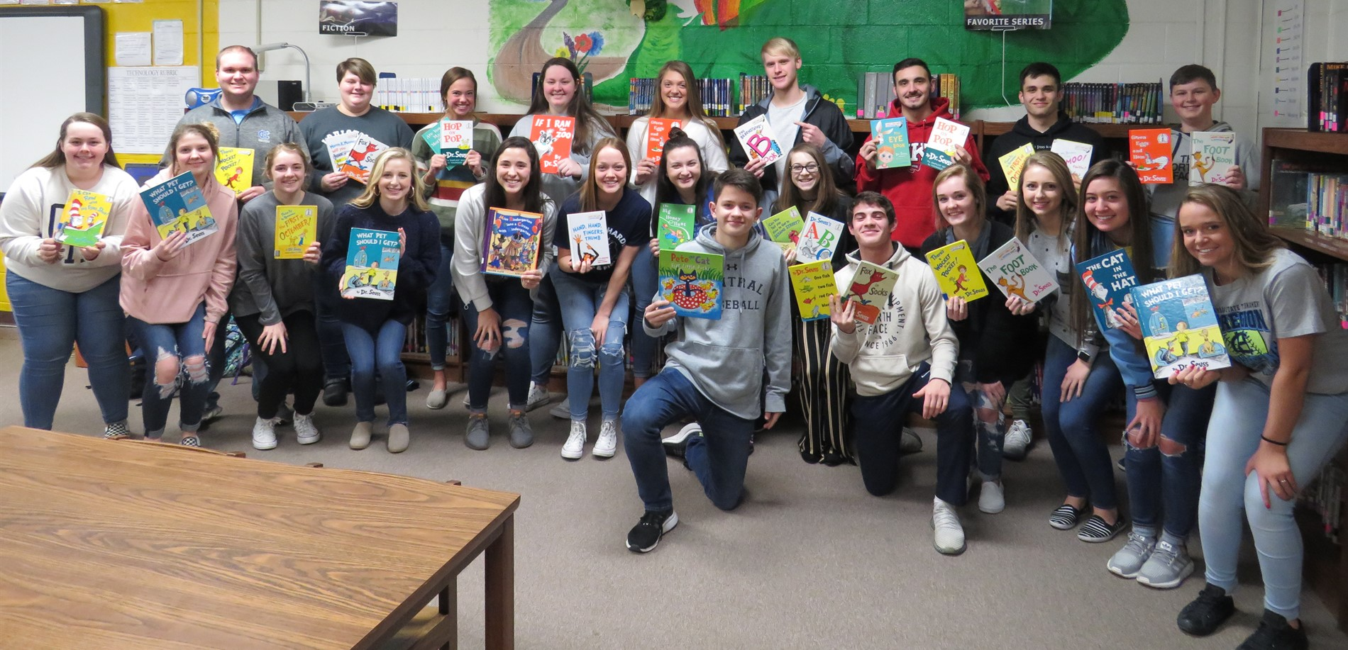 CHHS Students - Read Across America Day