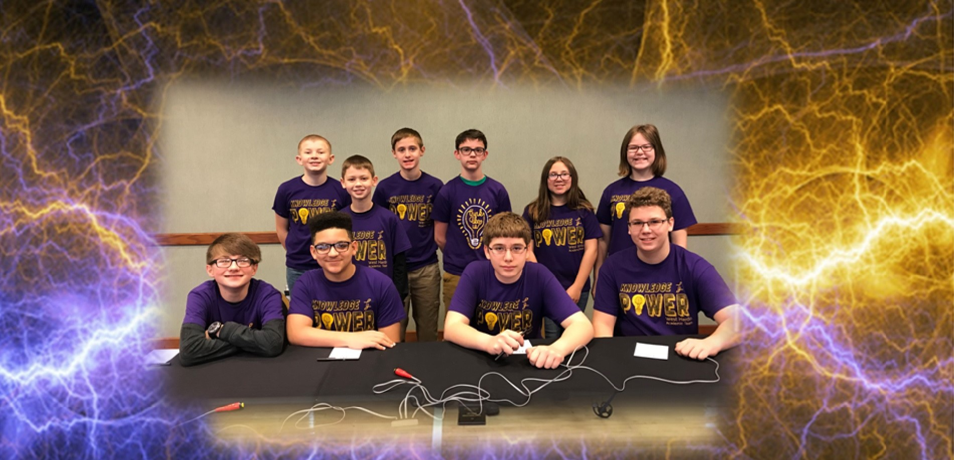 The WHMS Quick Recall Team Recently Qualified for the State Governors Cup Competition!