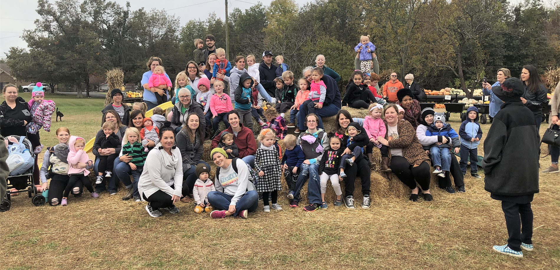 HCS Cradle School had a great time at the pumpkin patch.  Thank you United Way of Central Kentucky.
