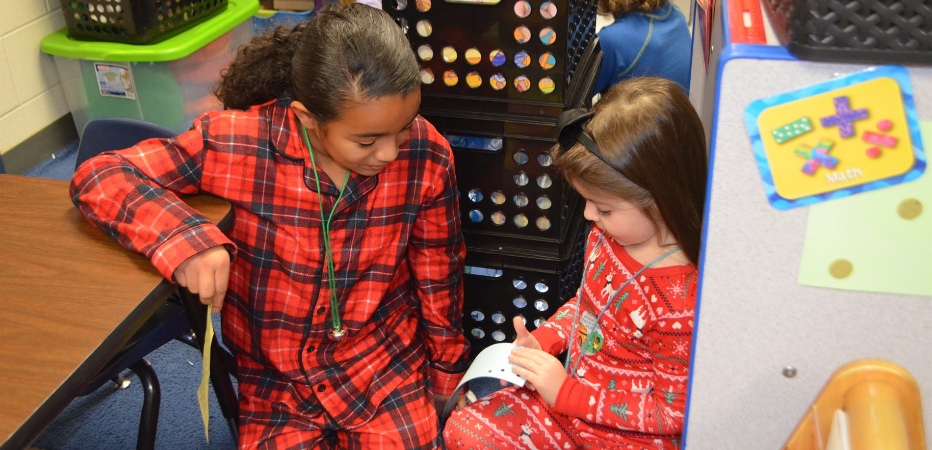 Fifth-grade students at GC Burkhead Elementary gave