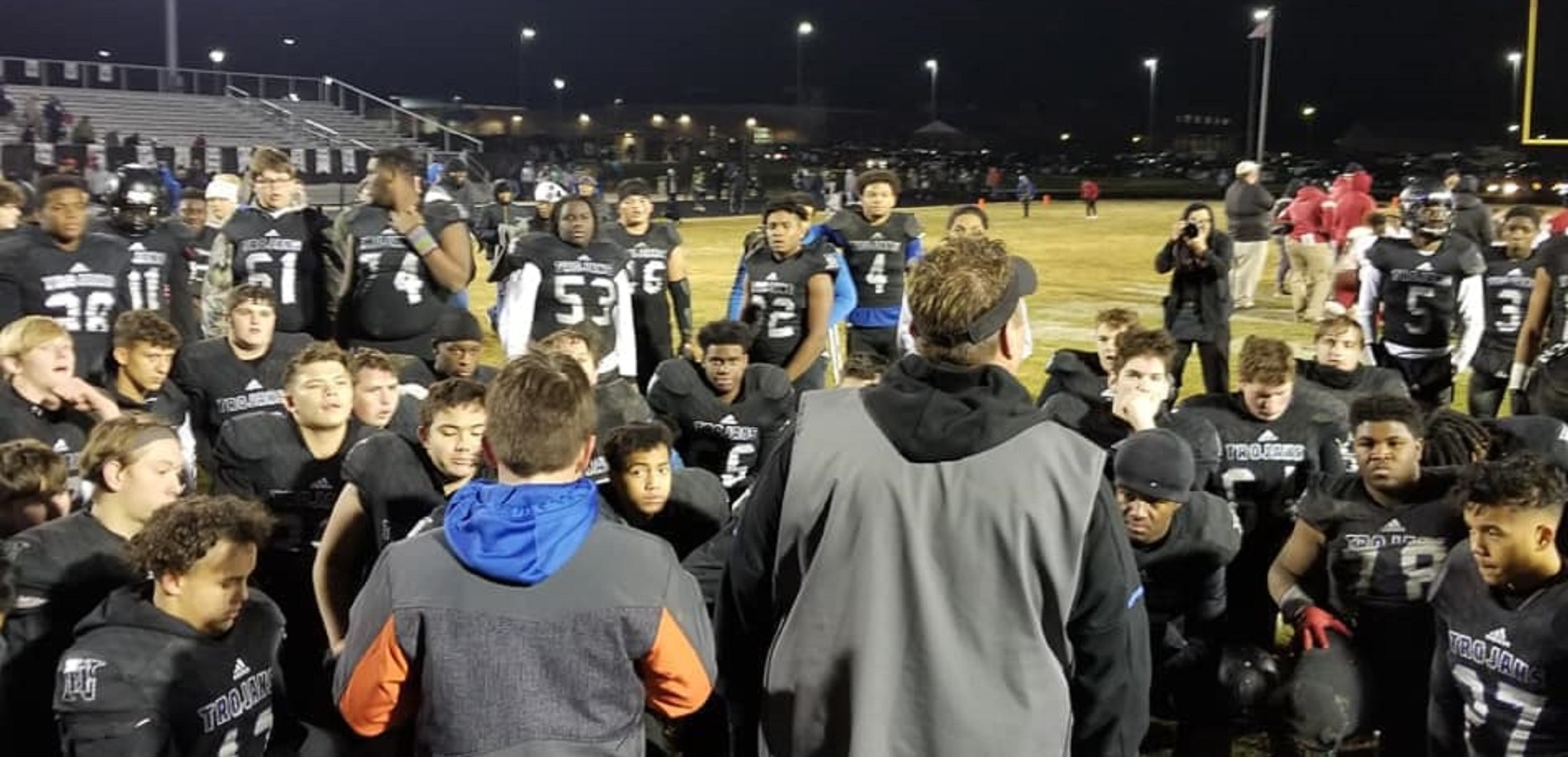 The North Hardin High School football team finished the season with a district and regional championship and a 13-1 season.