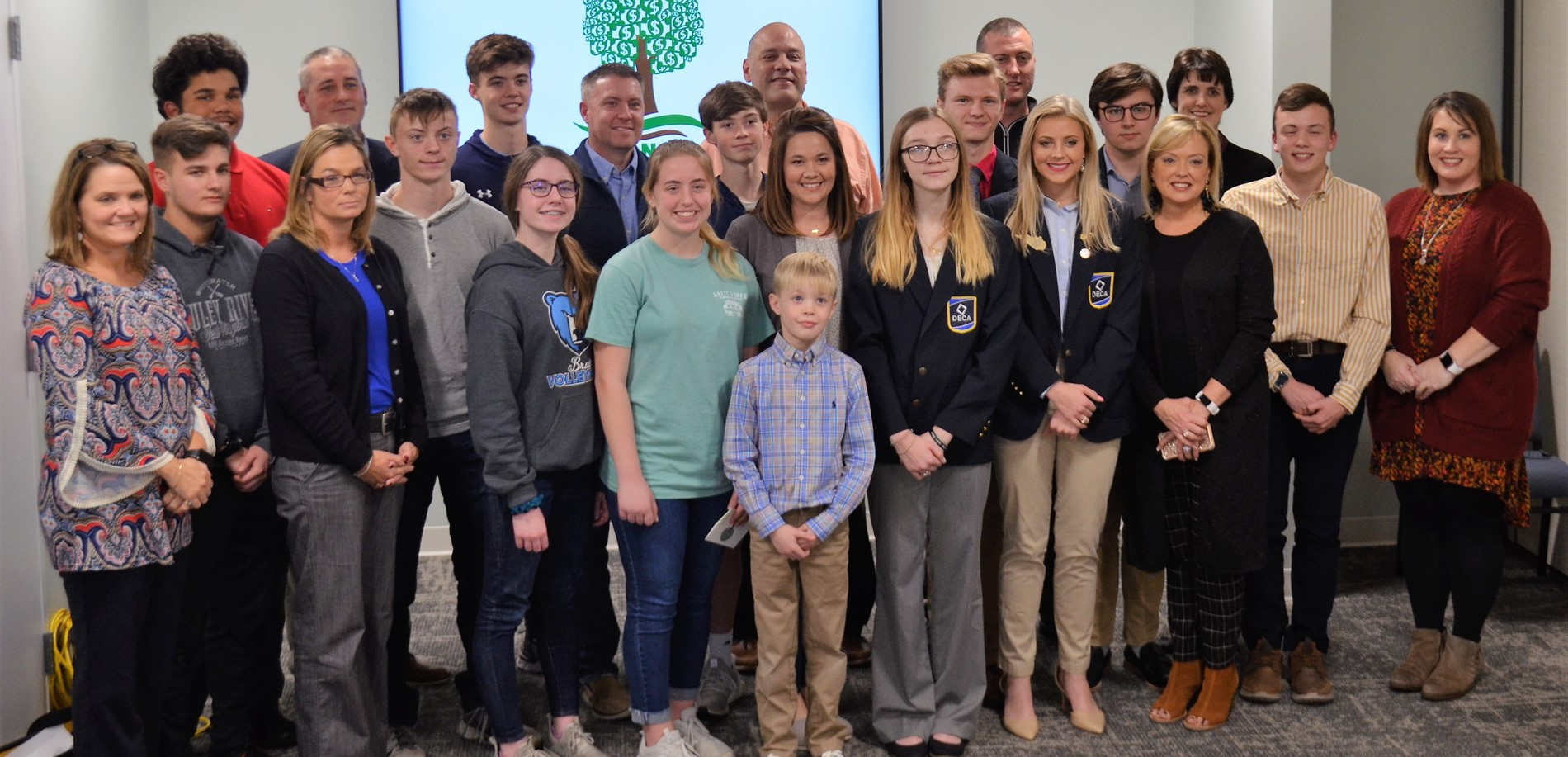 The Nelson family made a major gift to the Central Kentucky Community Foundation to help the HCS financial literacy program.