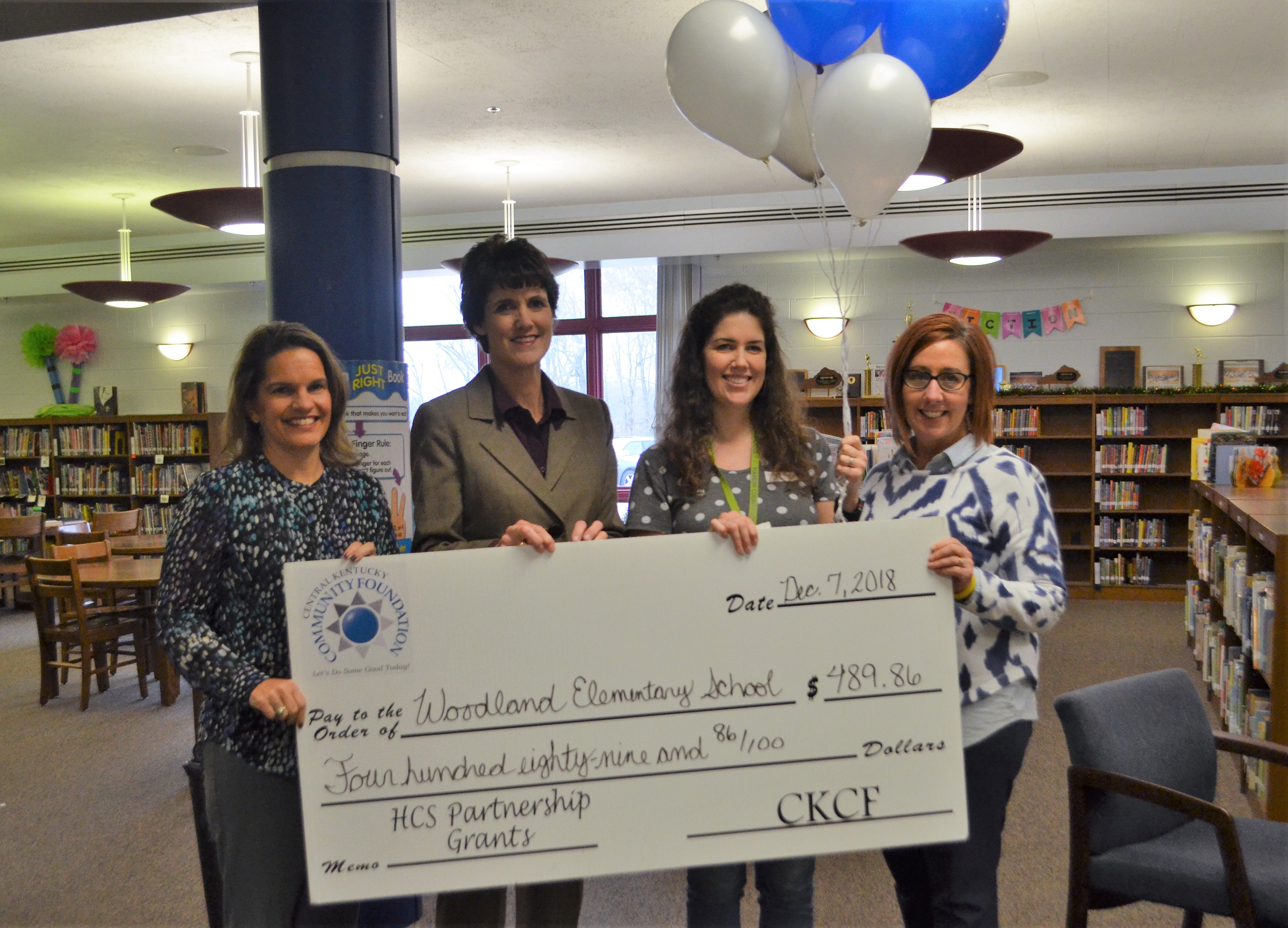 partnership grant at woodland
