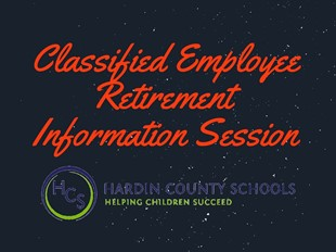 CLASSIFIED EMPLOYEE RETIREMENT INFORMATION SESSION  linked image