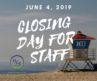 CLOSING DAY FOR STAFF linked image
