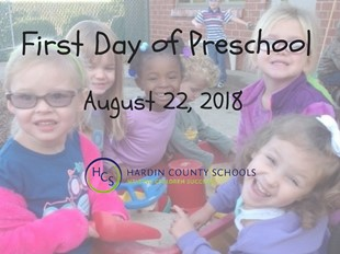 FIRST DAY OF PRESCHOOL linked image