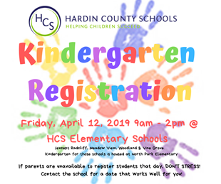 PRE-REGISTRATION FOR KINDERGARTEN & PRESCHOOL linked image