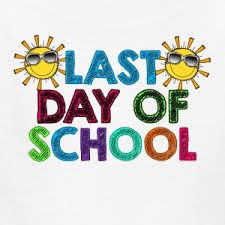 LAST DAY OF SCHOOL (Kindergarten through 12th grade students) linked image