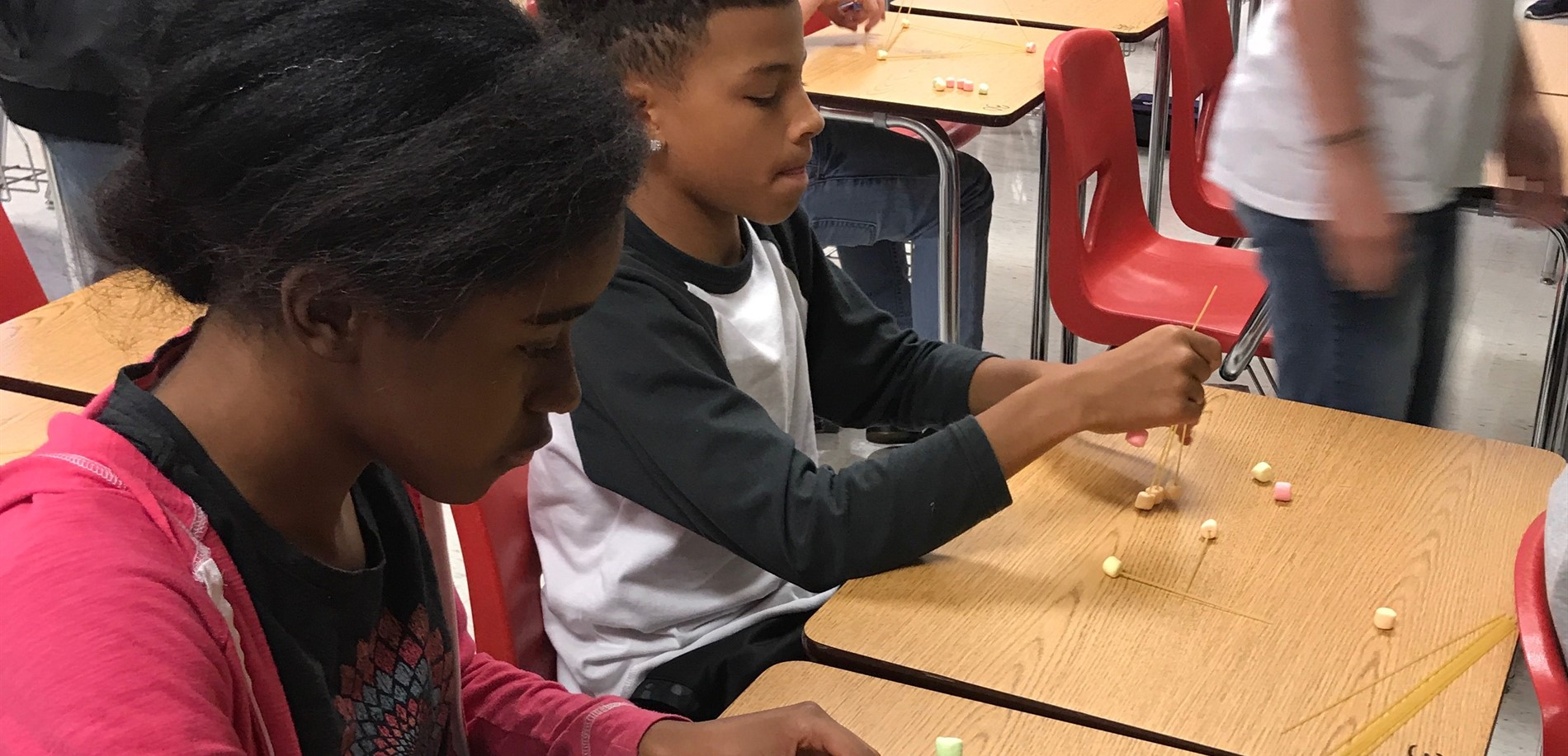 STEM projects in Ms. Biggs' Science class