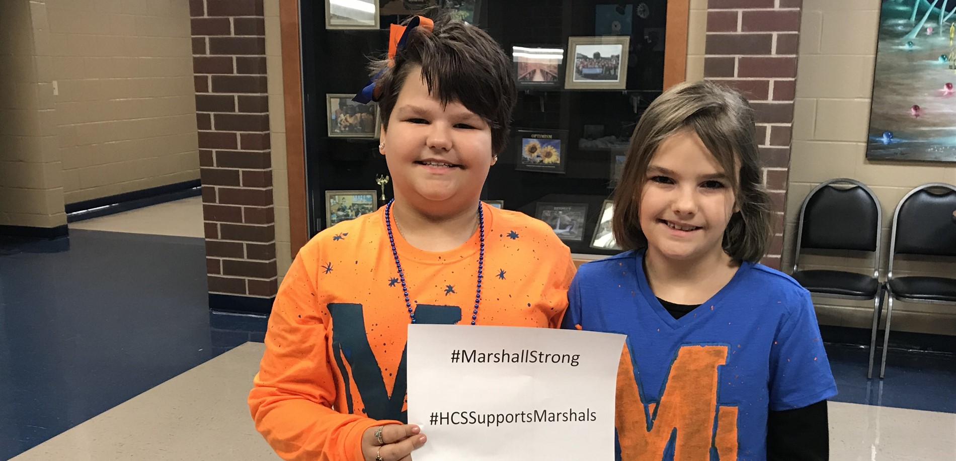 Radcliff Elementary School Supports Marshall County High School!