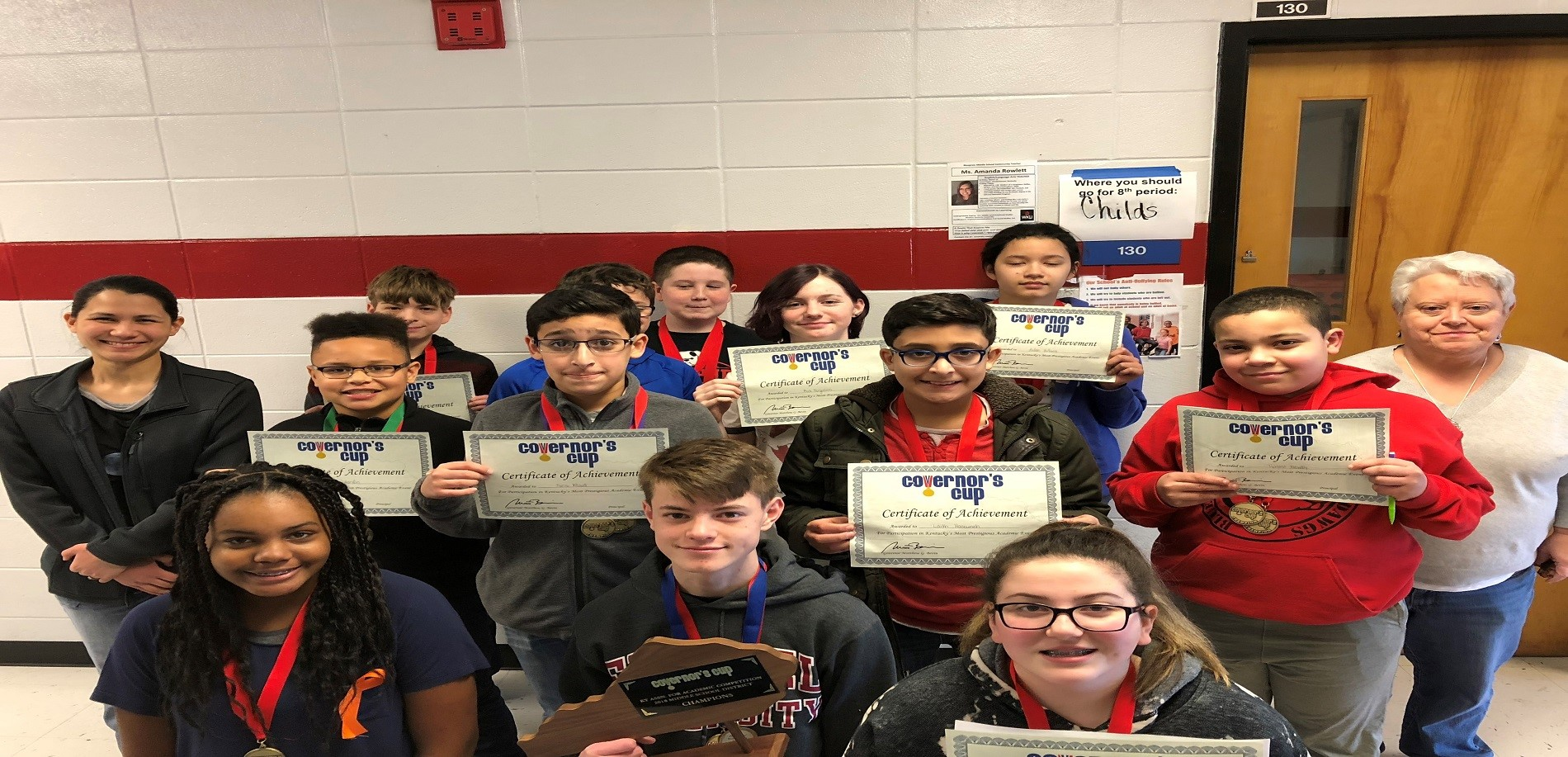 Academic Team Receives Several Awards