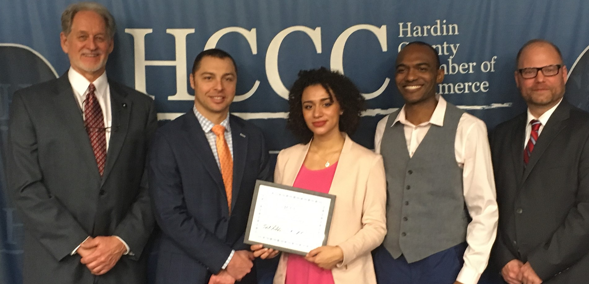 North Hardin High School student Ellyanna Gomez was honored as the ABC Student of the Month at the Hardin County Chamber of Commerce Luncheon.