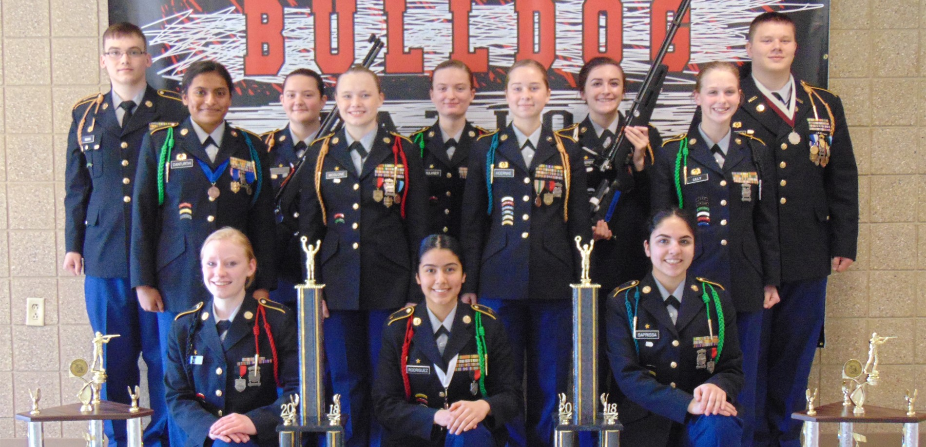 John Hardin JROTC Marksmanship Team  and their recent awards