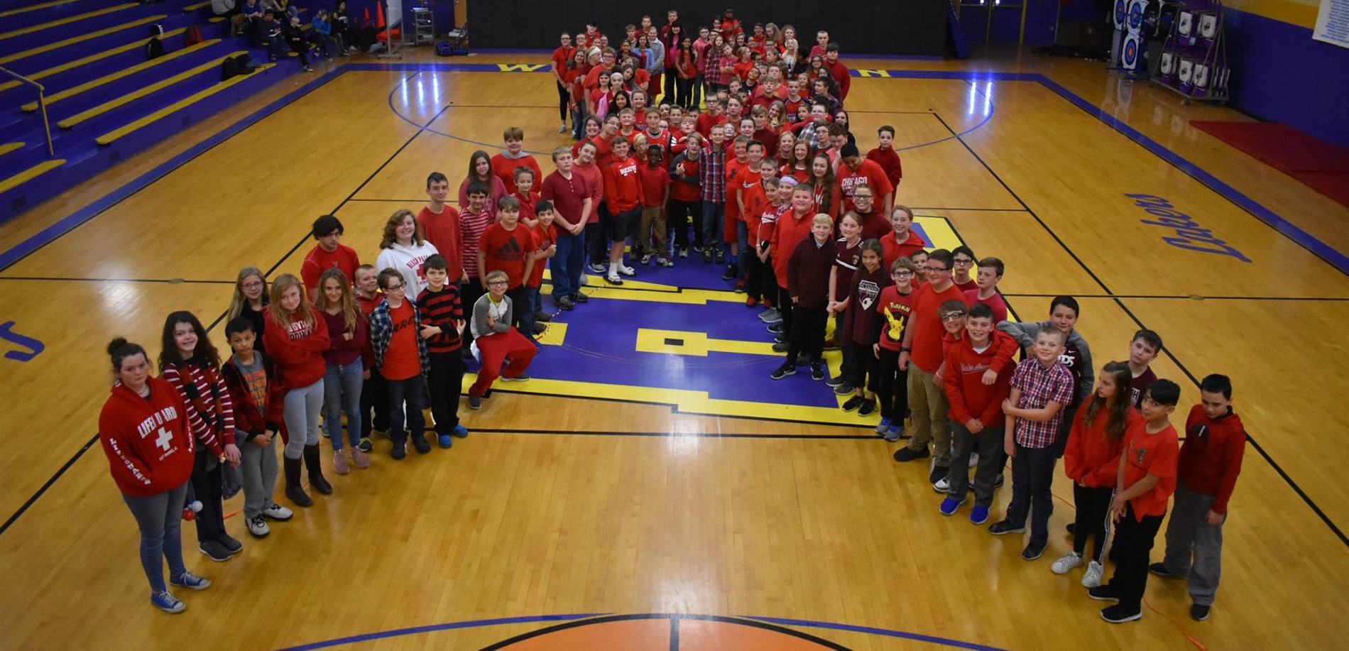 West Hardin Middle School students celebrated Red Ribbon Week.