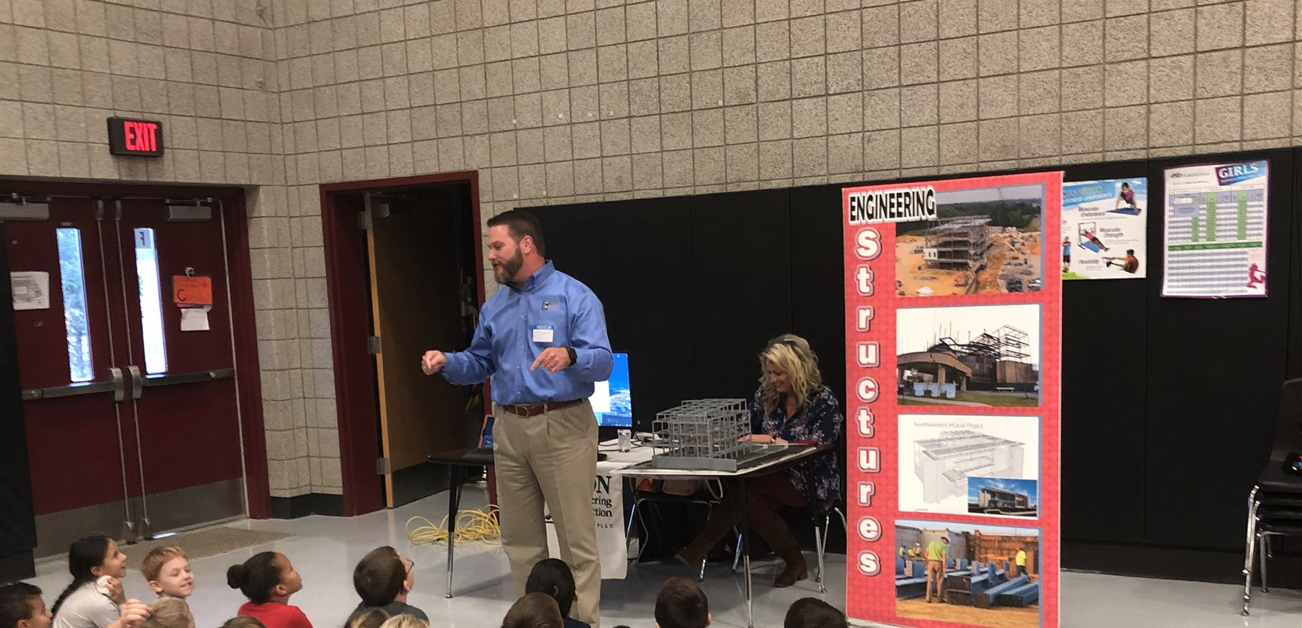 ICON Engineering speaks with Heartland Students About Structural Engineering