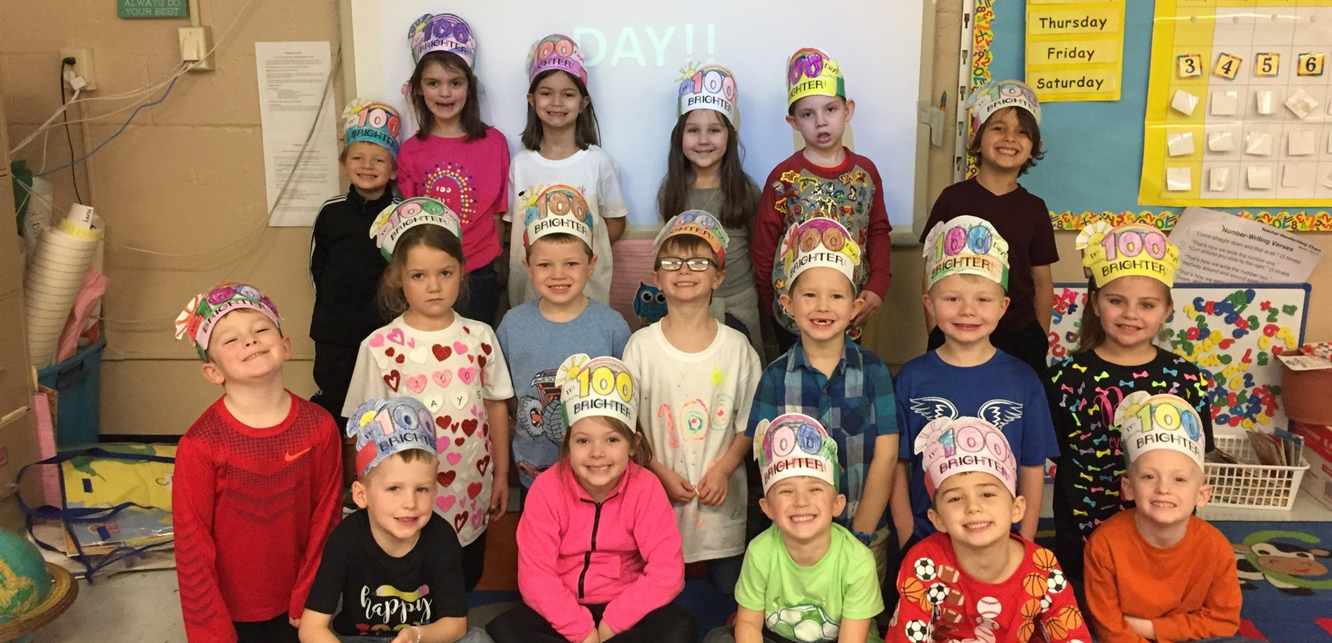 100 Days Smarter in Ms. Leonard's Class