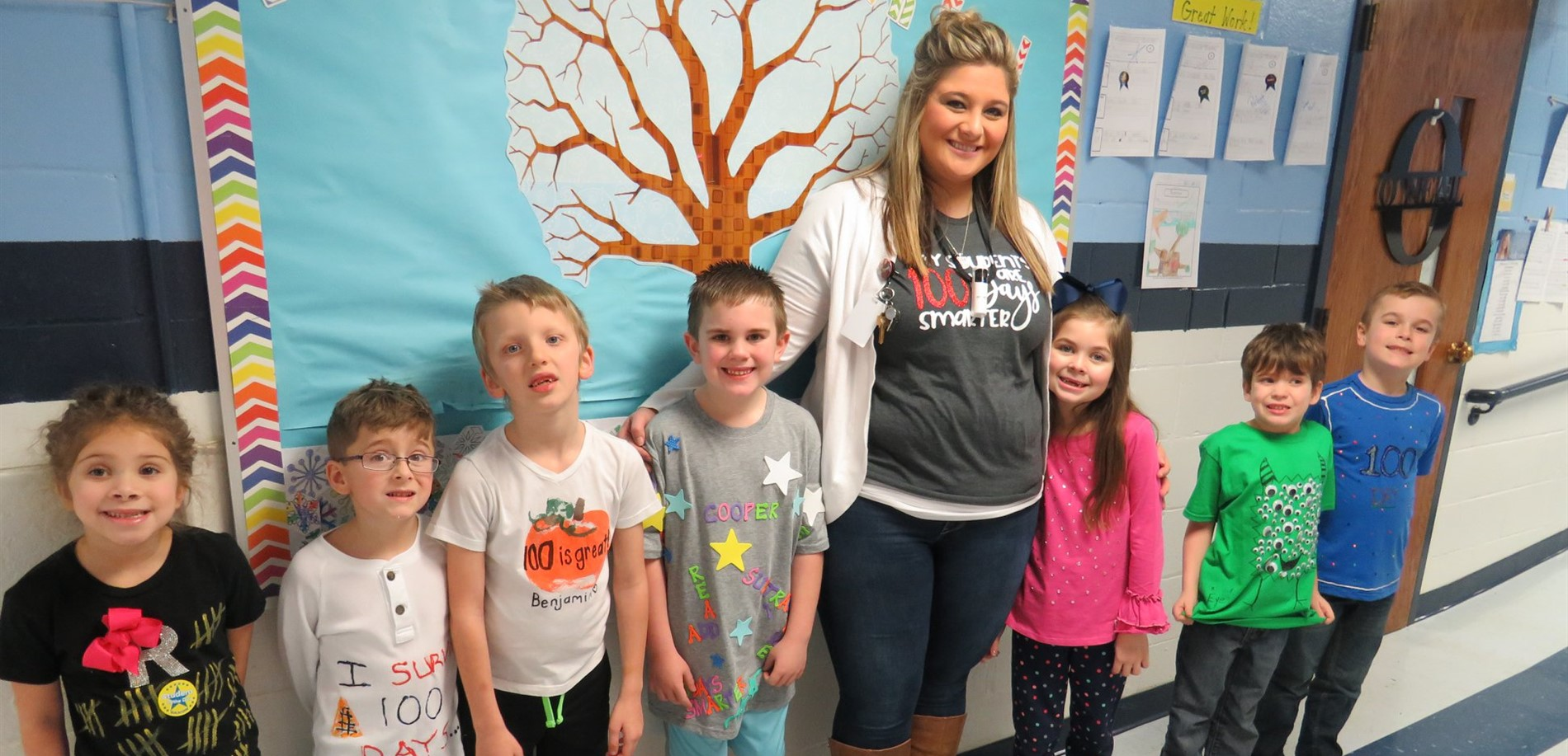 100 Days Smarter in Mrs. Kinney's Class