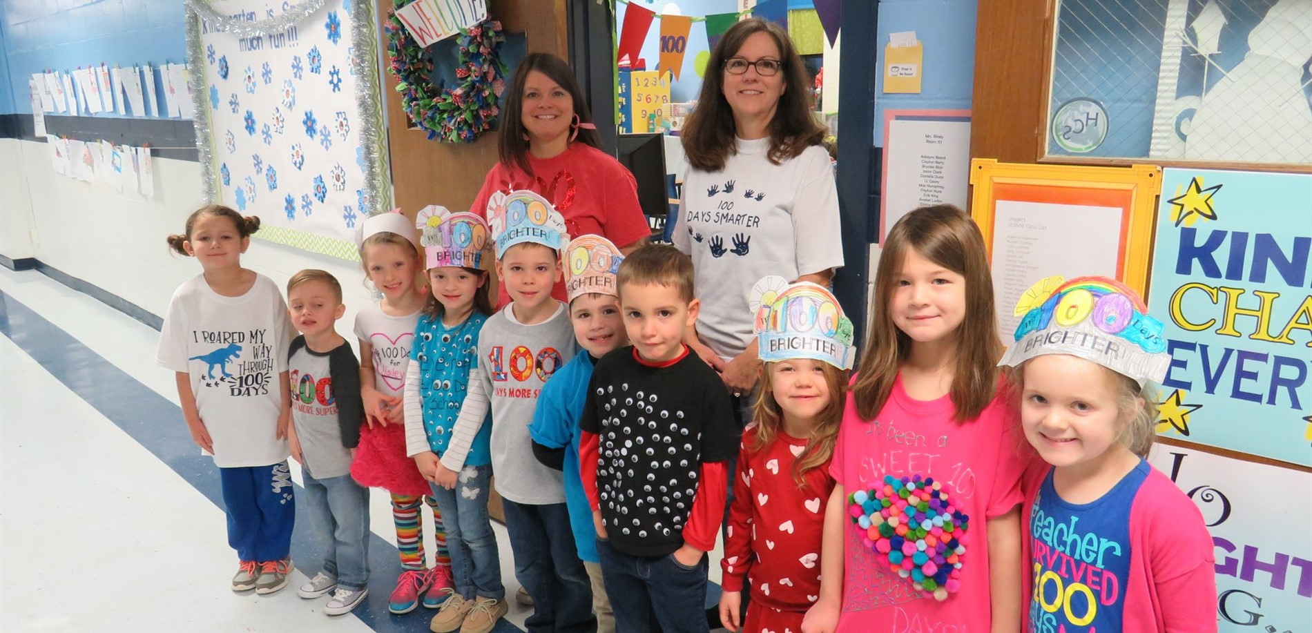 100 Days Smarter in Mrs. Riney's Class