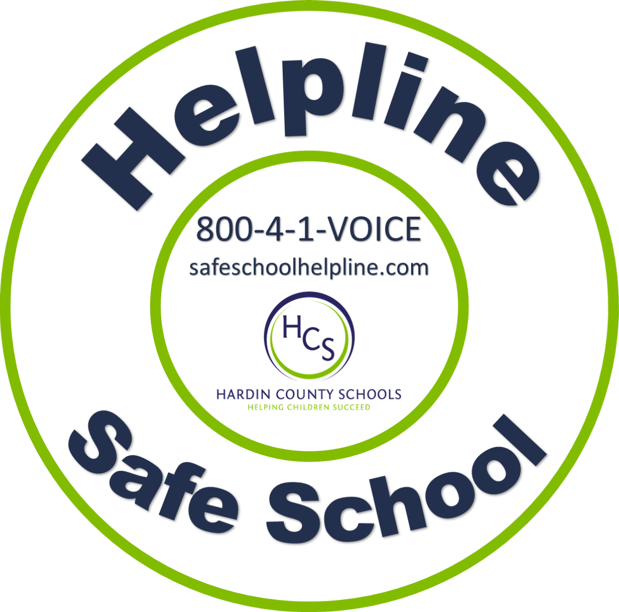 hcs safe school helpline